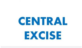 CENTRAL EXCISE Registration