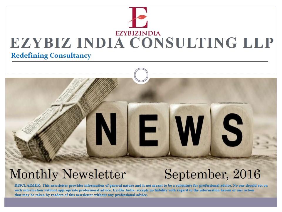 Ezybiz Newsletter September 2016