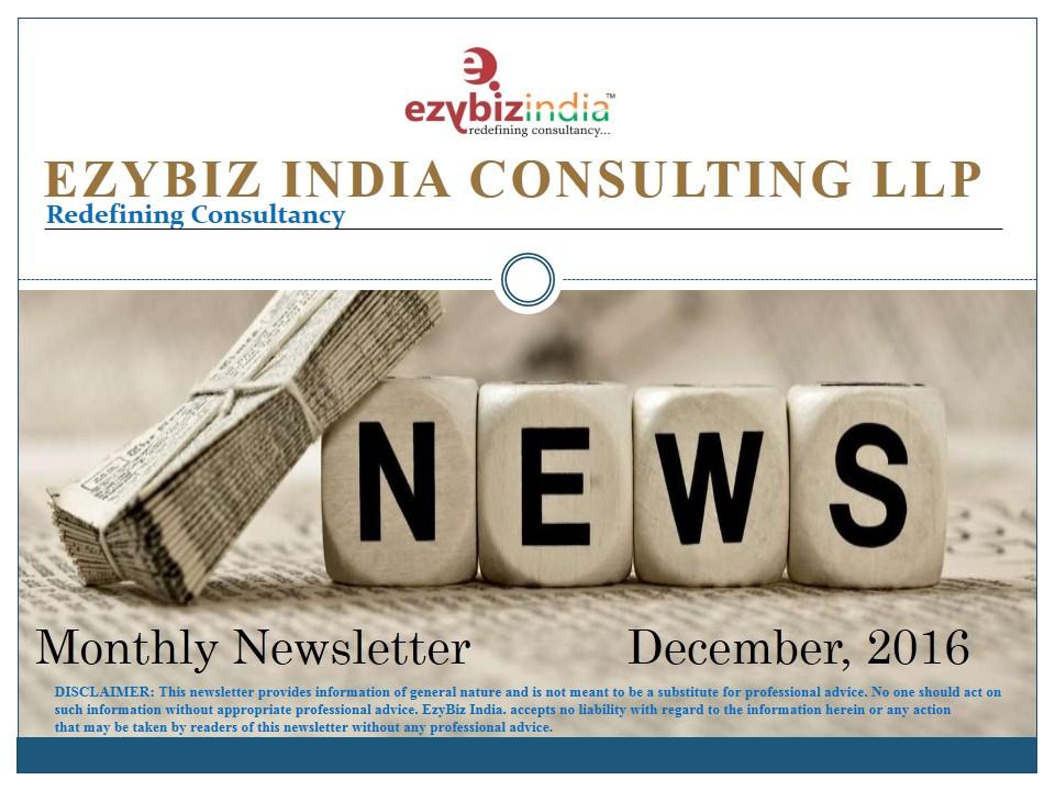 EZYBIZ Newsletter December 2016