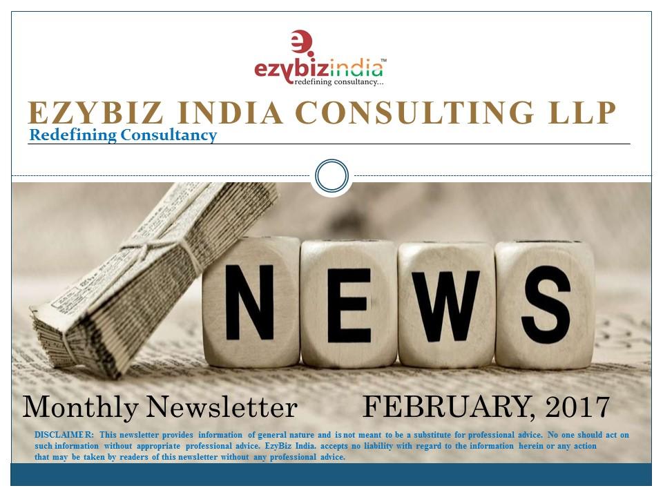 EZYBIZ Newsletter February 2017