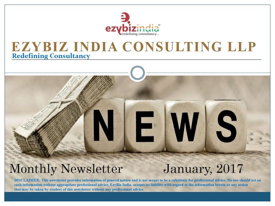 EZYBIZ Newsletter January 2017