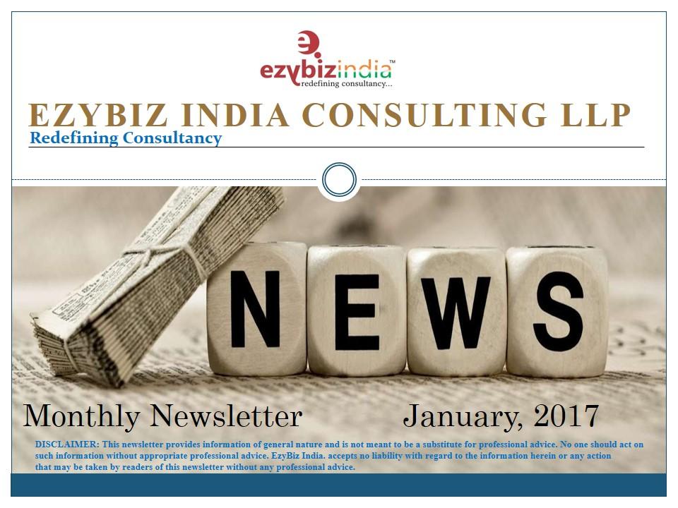 EZYBIZ Newsletter January 2017