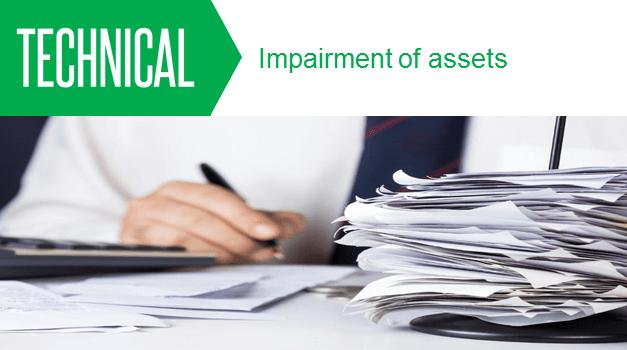 Impairment of Assets