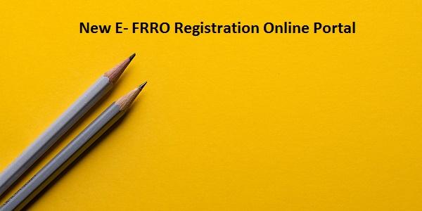 FRRO Registration