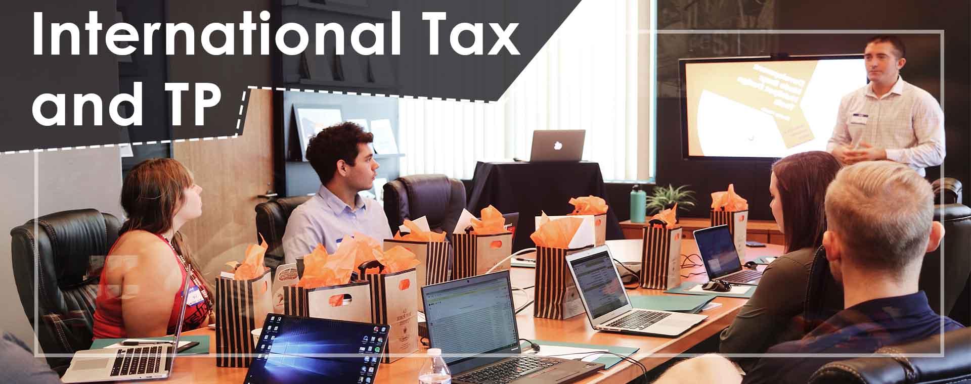 International Tax and tp